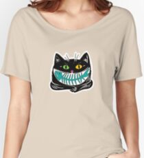 cat and fish Women's Relaxed Fit T-Shirt