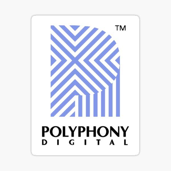 Polyphony Digital Sticker