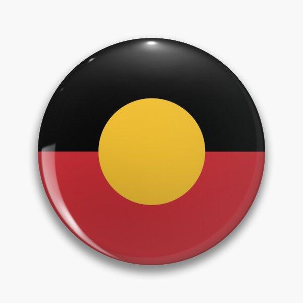 Aboriginal Flag #3 Pin