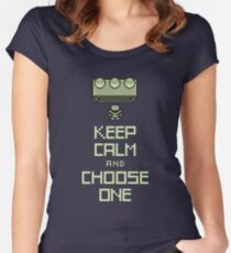 Keep Calm and Choose One Women's Fitted Scoop T-Shirt