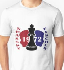 Camiseta unisex Fischer vs. Spassky 1972