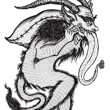Krampus (Single & Black and White Version) by kimduran