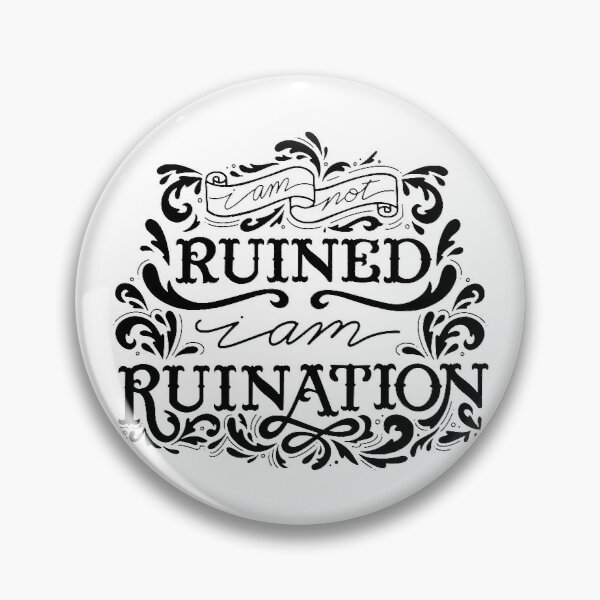 Grishaverse Genya Ruined Ruination Pin