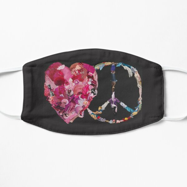 Song of Love and Peace Flat Mask