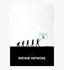 99 Steps of Progress - Instant network Photographic Print