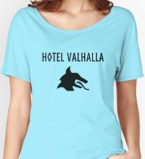 Hotel Valhalla Women's Relaxed Fit T-Shirt