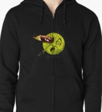 A Trip to the Moon Zipped Hoodie