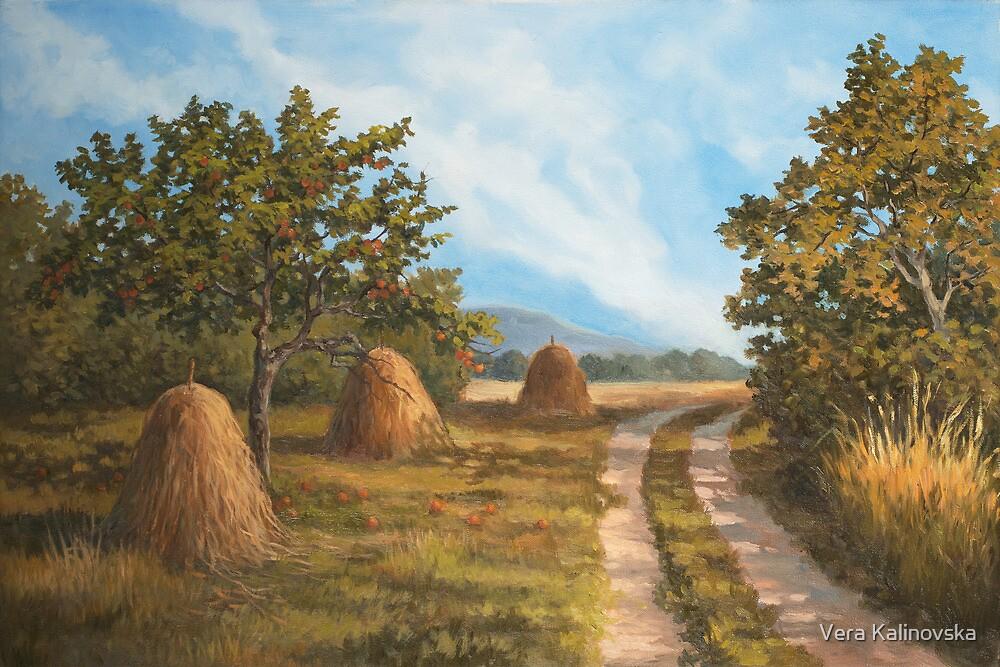 Two Roads by Vira Kalinovska
