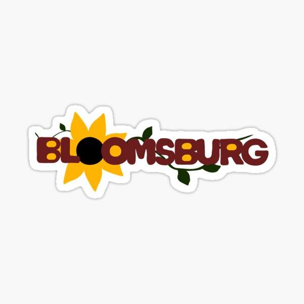 Bloomsburg Sunflower Sticker