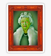 Queen of reptiles Sticker