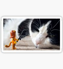 Cat-Woman Sticker