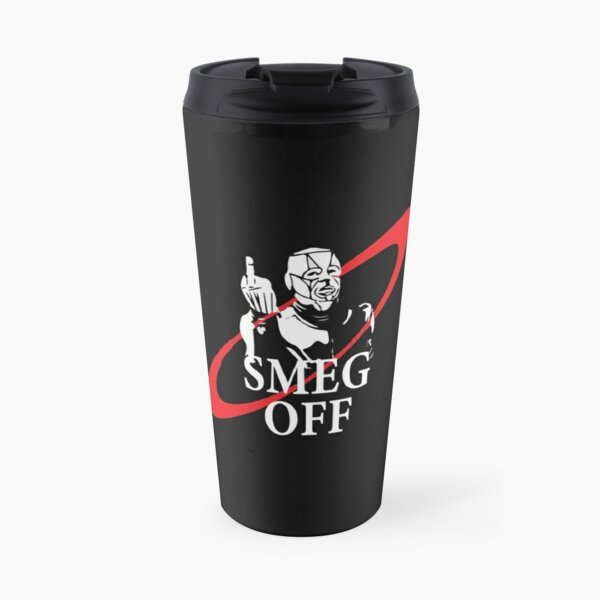 Kryten Mechanoid Smeg Off Red Dwarf Funny Travel Mug
