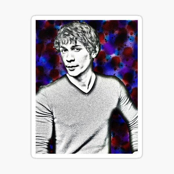 Bob Morley 1980s Art Sticker