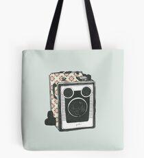Floral Camera 2 Tote Bag
