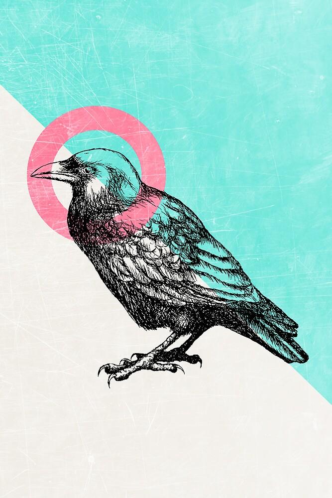 Techno Crow by Zeke Tucker