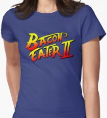 Bacon Eater II  Women's Fitted T-Shirt