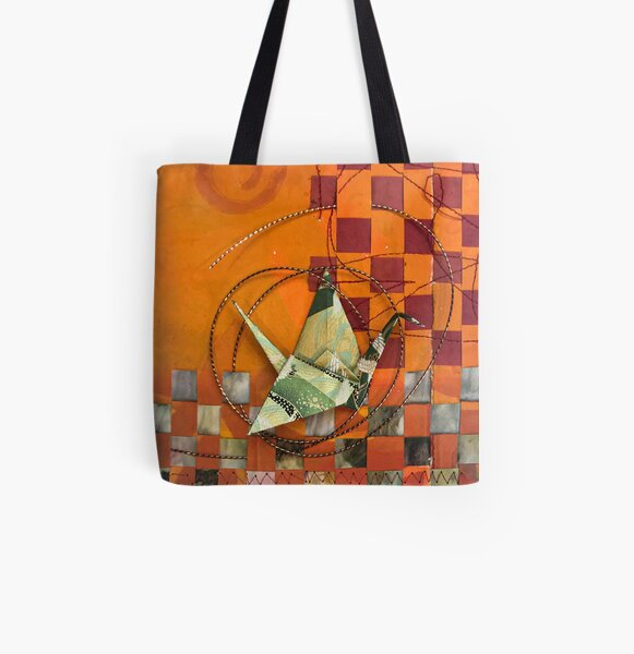 Round Flip Excursion All Over Print Tote Bag
