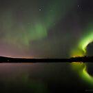 aurora borealis by JorunnSjofn Gudlaugsdottir