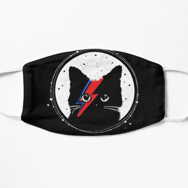 supermeow david shirt bowie smoking gift for fans and lovers Flat Mask