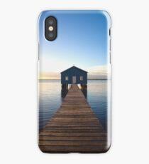 River Boatshed iPhone Case