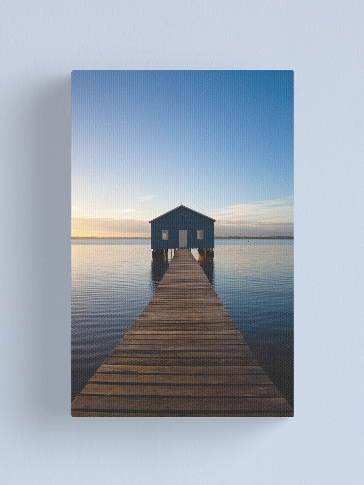 Alternate view of River Boatshed Canvas Print