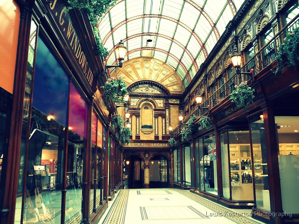 The Central Arcade by Lewis Kesterton Photography