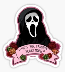 Favorite Scary Movie? Sticker