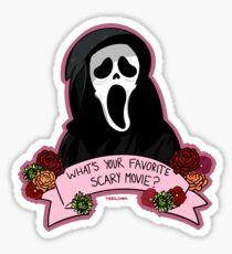 Favorite Scary Movie? Sticker