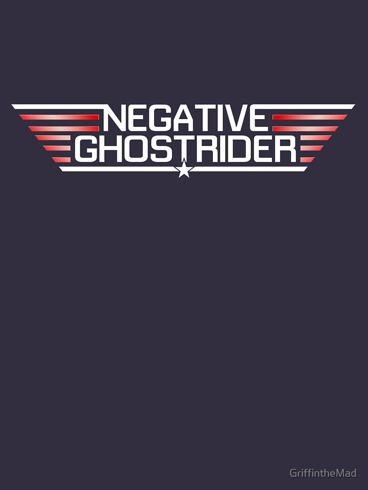 Negative Ghostrider the Pattern is Full | Unisex T-Shirt