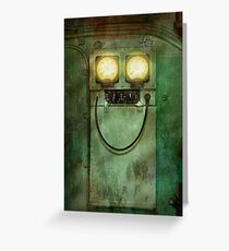 Steampunk - Be Happy Greeting Card