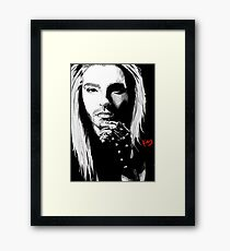 Blond Bill Framed Print