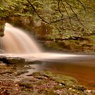 West Burton Falls (HDR) by Stephen Knowles