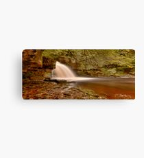 West Burton Falls (HDR) Canvas Print