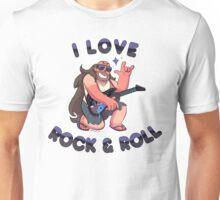 "Greg Universe - Steven Universe ""I LOVE ROCK & ROLL"" Unisex T-Shirt"