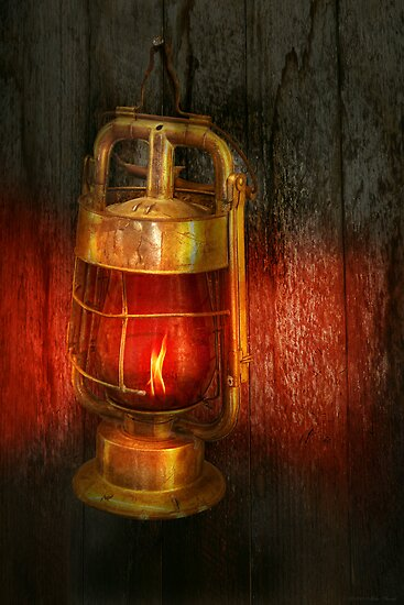 Steampunk - Red light district by Michael Savad