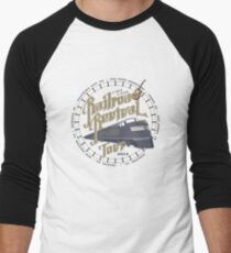 Railroad Revival contest entry Men's Baseball ¾ T-Shirt