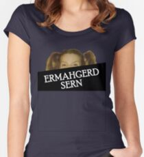 ERMAHGERD Women's Fitted Scoop T-Shirt