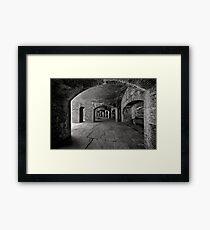 Caverne Framed Print