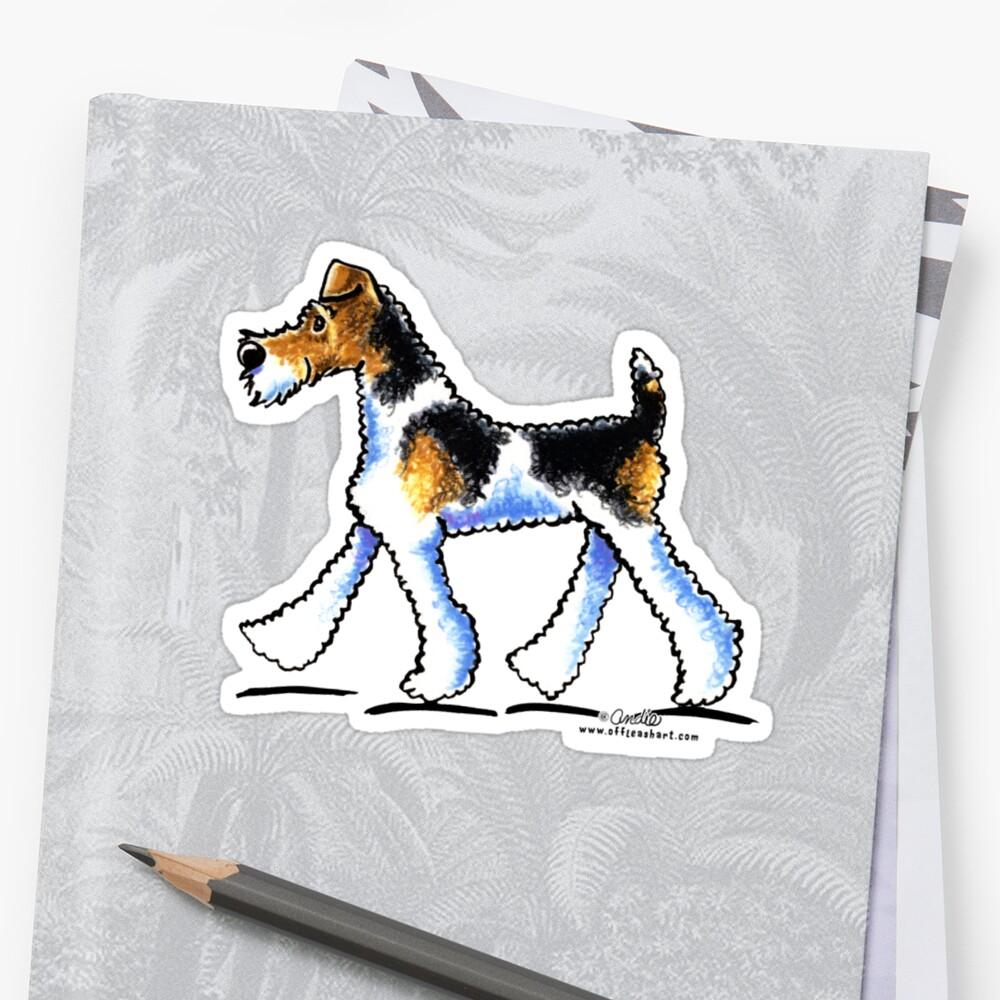 Wire Fox Terrier Trot\