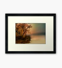 """"""" The Fog and What Awaits """" Framed Print"""