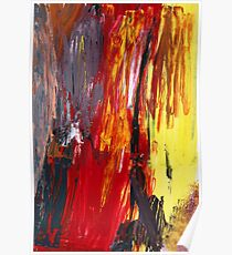 Abstract - Acrylic - Rising power Poster