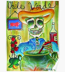 Chile Verde Poster