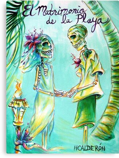 El Matrimonio de la Playa by HCalderonArt