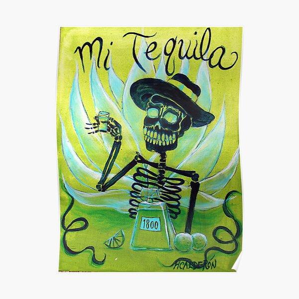 Mi Tequila Poster
