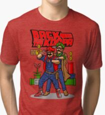 Back To Fight The Koopa Tri-blend T-Shirt