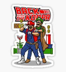 Back To Fight The Koopa Sticker