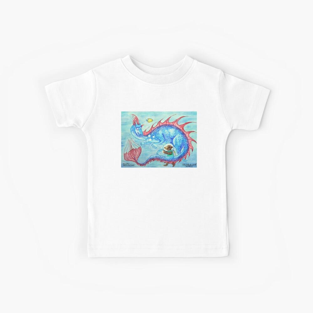 Harry Bär erforscht die Tiefen Kinder T-Shirt