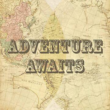 Adventure awaits. by grimecreative