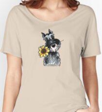Sunny Schnauzer Women's Relaxed Fit T-Shirt