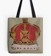 See me in a crown Tote Bag